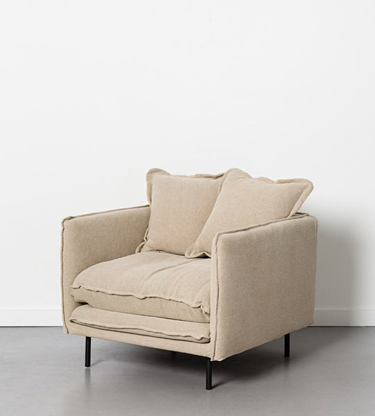 Marcello Armchair | Linen