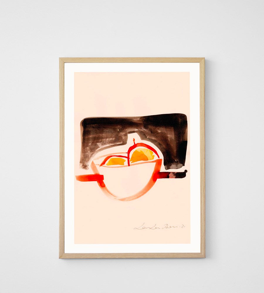 Paper Collective | The Bowl | Framed Print | 50 x 70cm