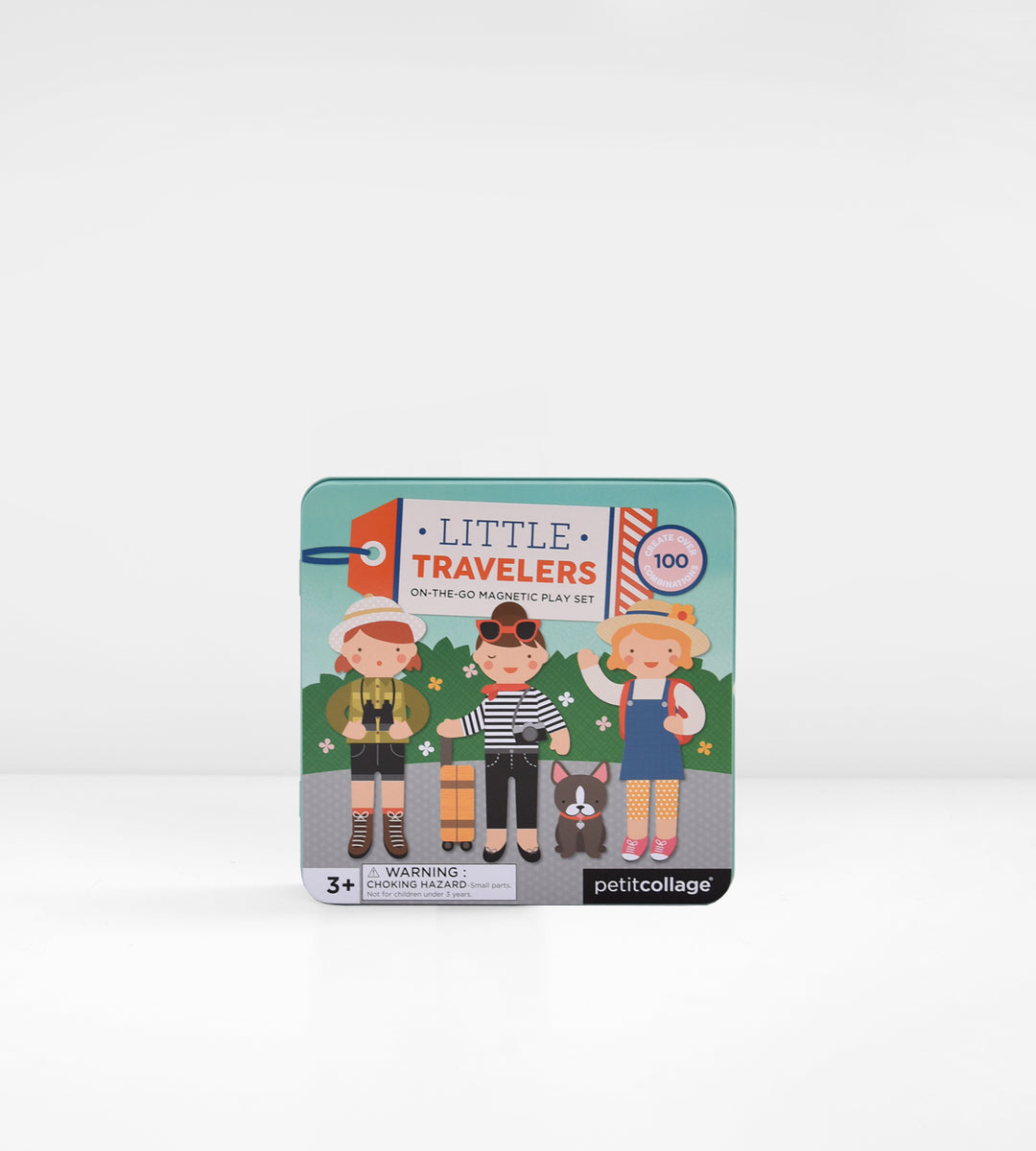 Petit Collage | Magnetic Play Set | Little Travelers On-The-Go