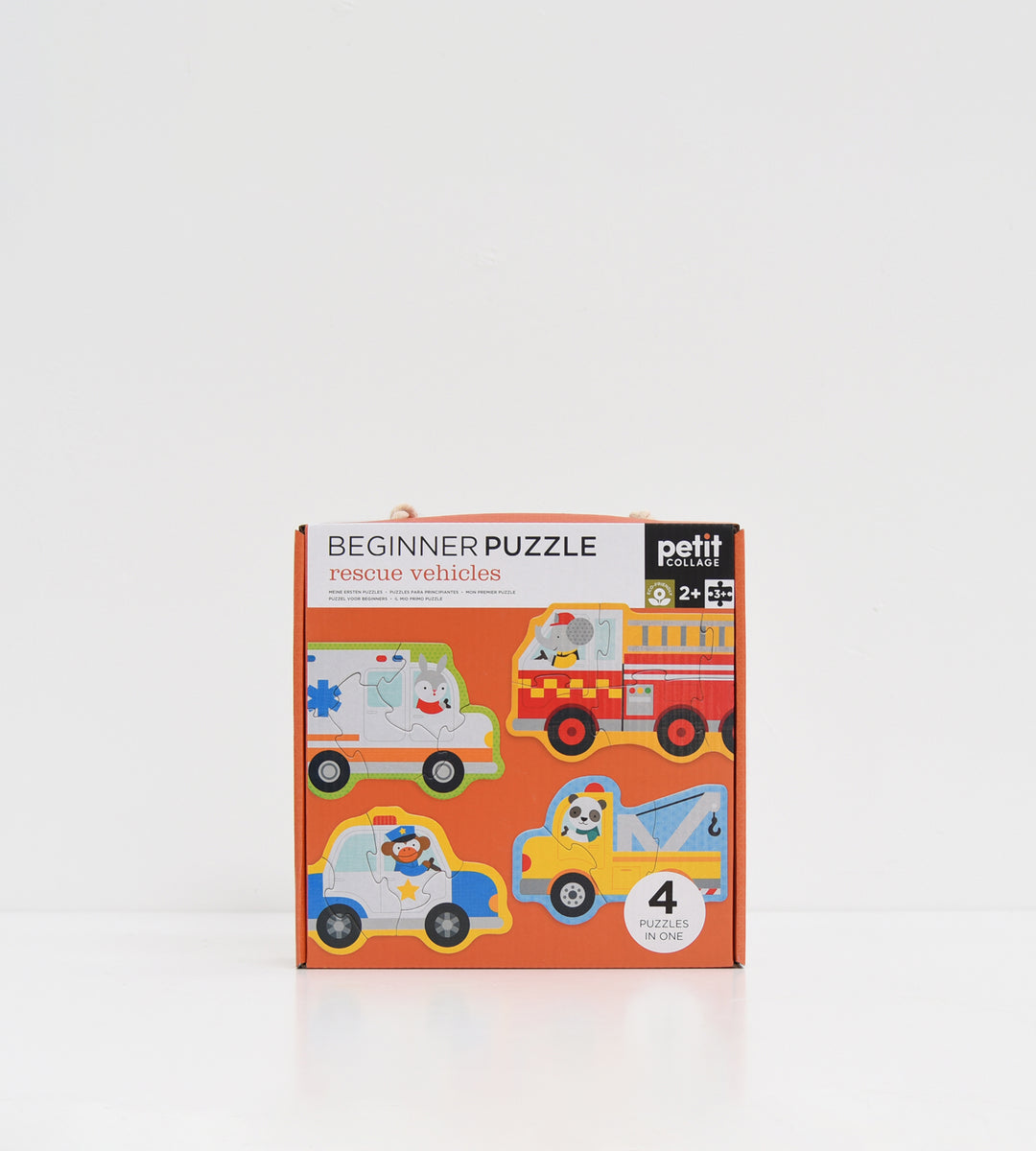 Petit Collage | Rescue Vehicles Beginner Puzzle