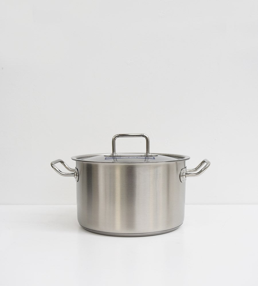 Pinti Inox | Master | Deep Casserole with Lid Set