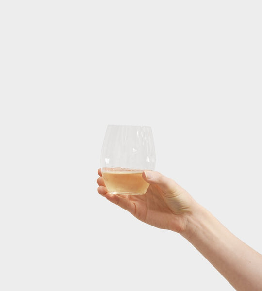 Plumm Stemless | White Wine Glass