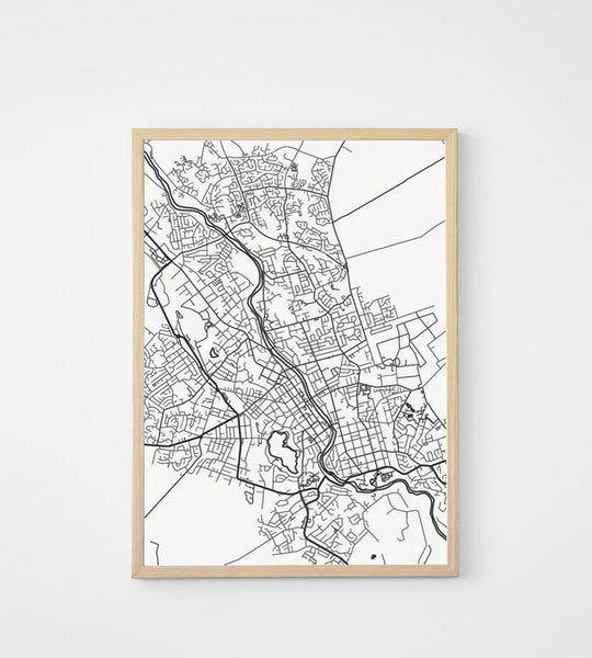 Poster | Map of Hamilton | 50 x 70 cm