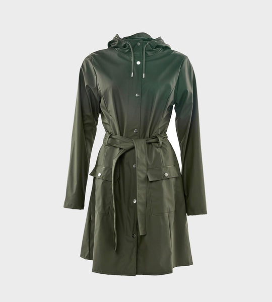 Rains | Curve Jacket | Green