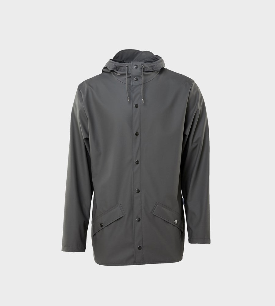 Rains Jacket Charcoal Raincoat