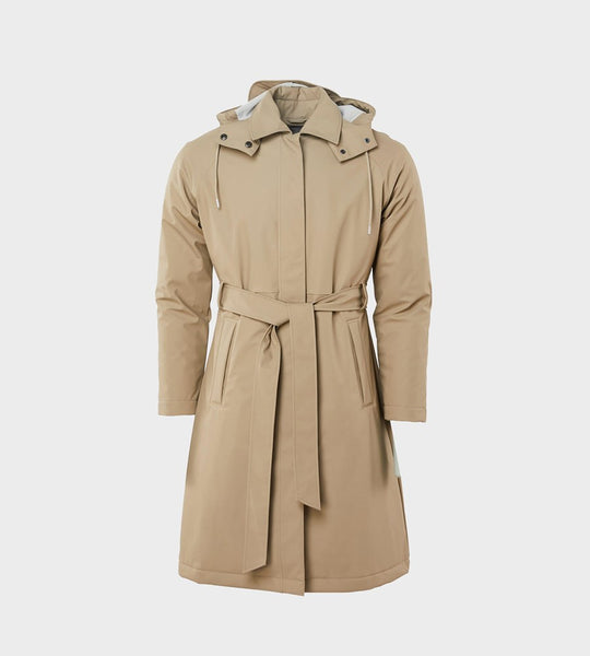 Rains W Trench Coat | Beige