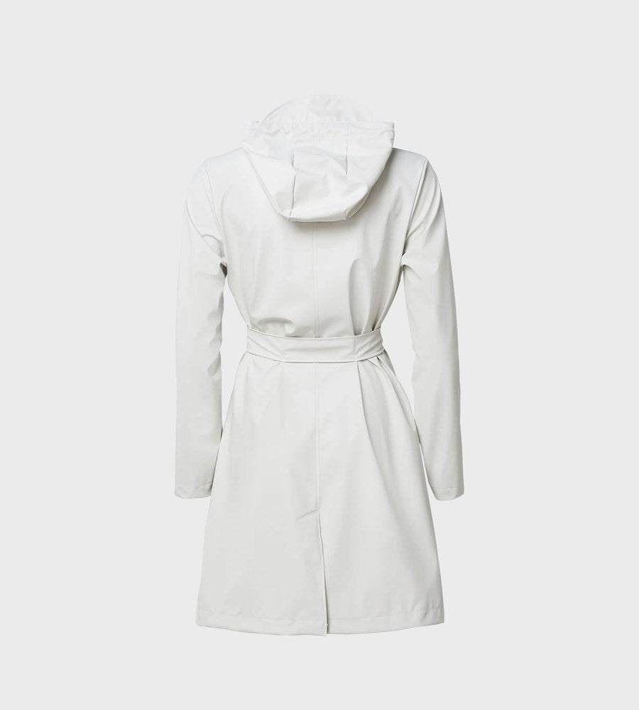 Rains Belt Jacket | Off White