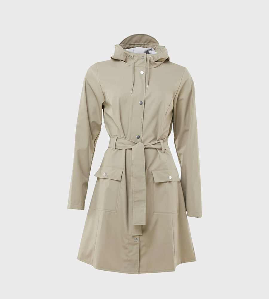 Rains | Curve Jacket | Beige