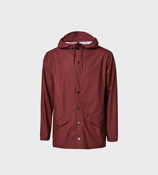 Rains Jacket | Maroon