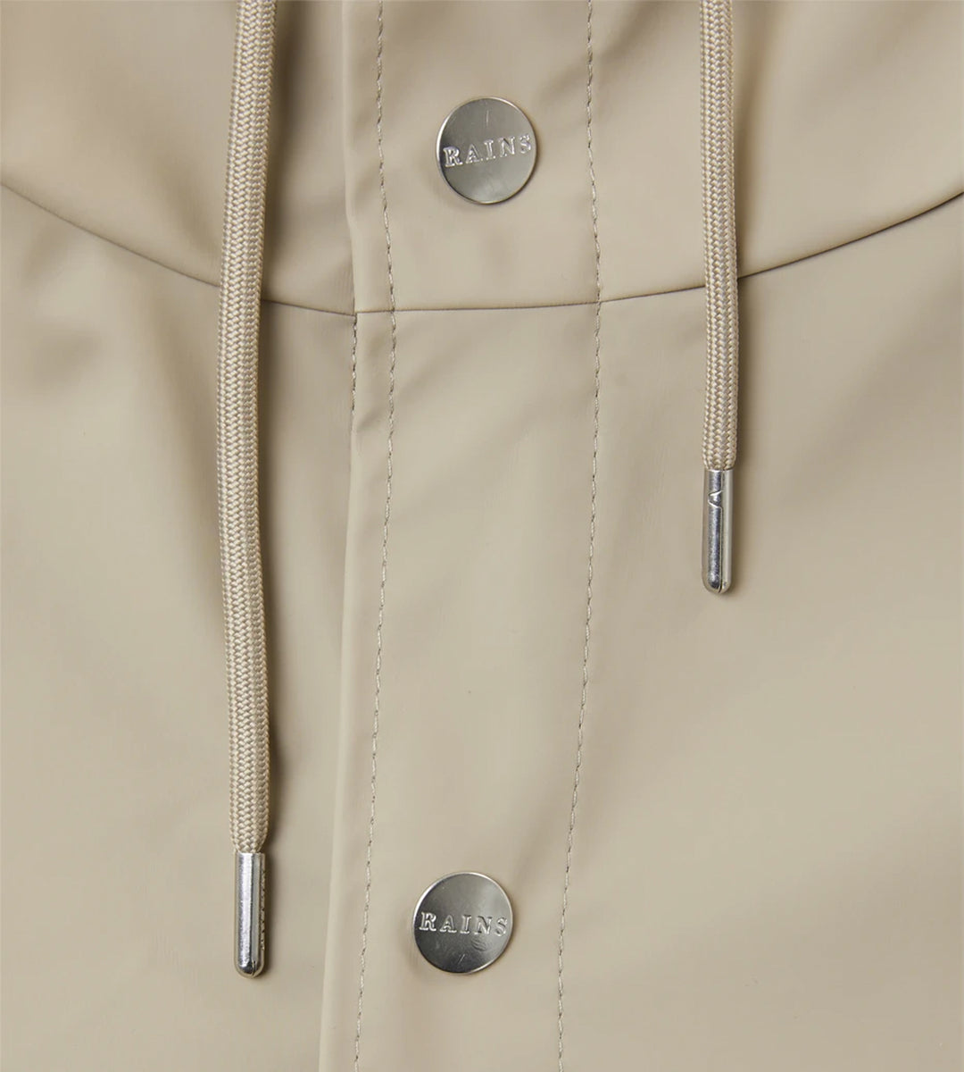 Rains Long Jacket | Beige