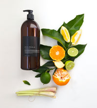 Real World | Dishwashing Liquid | Lemongrass & Citrus | Glass Pump
