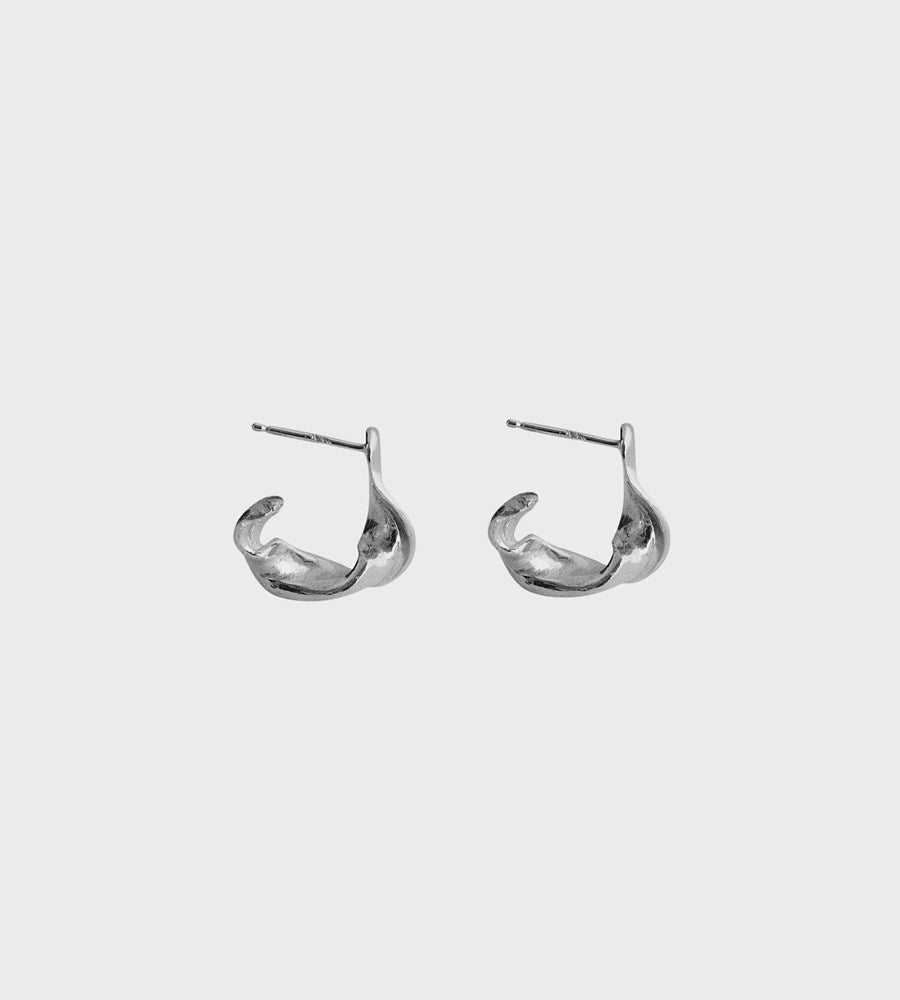 Released From Love | Classic Hoops 007 | Stirling Silver