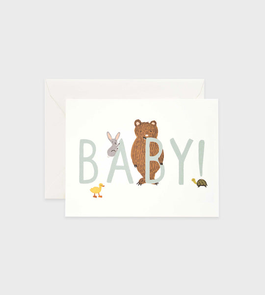 Rifle Paper Co. | Baby! Mint Card