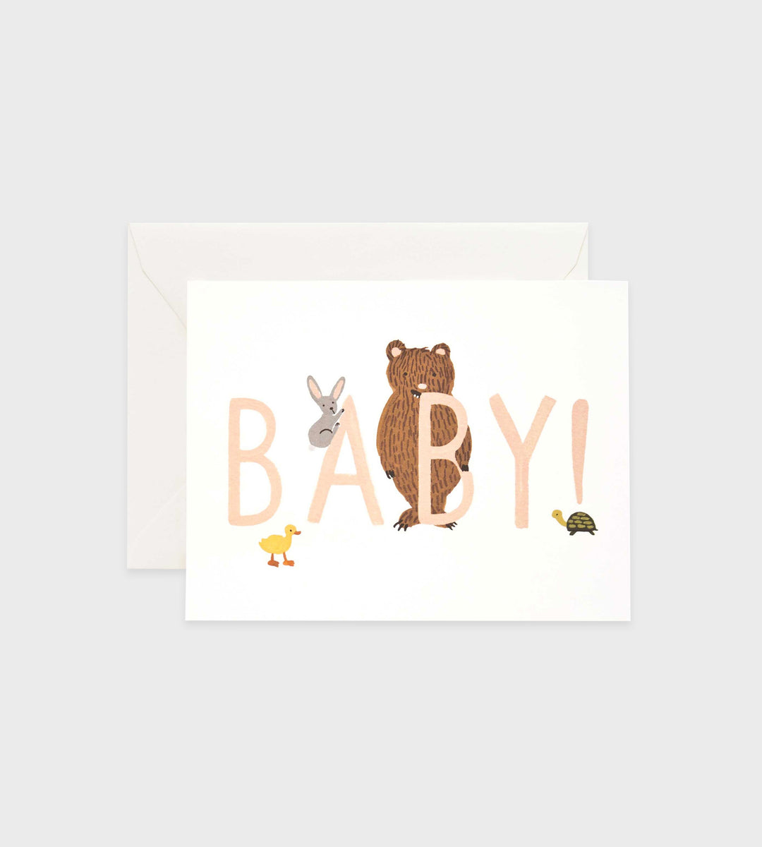Rifle Paper Co. | Baby! Peach Card