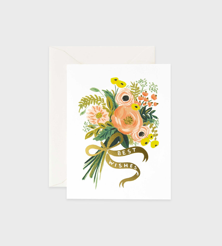 Rifle Paper Co. | Best Wishes Bouquet Card