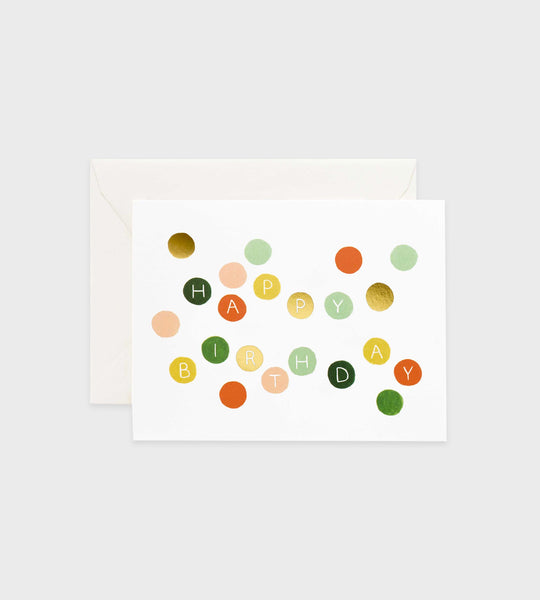 Rifle Paper Co. | Birthday Dots Card
