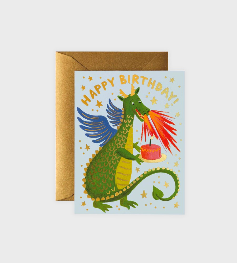 Rifle Paper Co. | Birthday Dragon Card