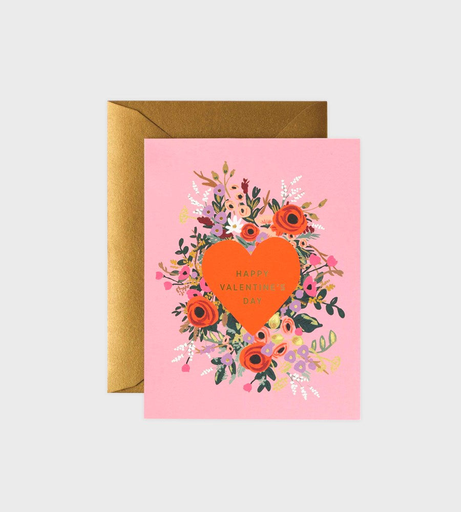 Rifle Paper Co. | Blooming Heart Valentine Card