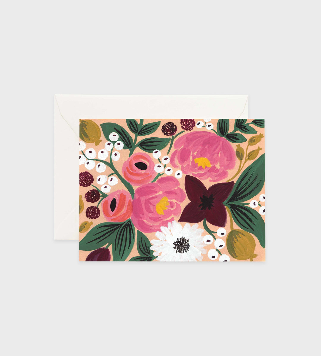 Rifle Paper Co. | Botanical Blossoms Peach Card
