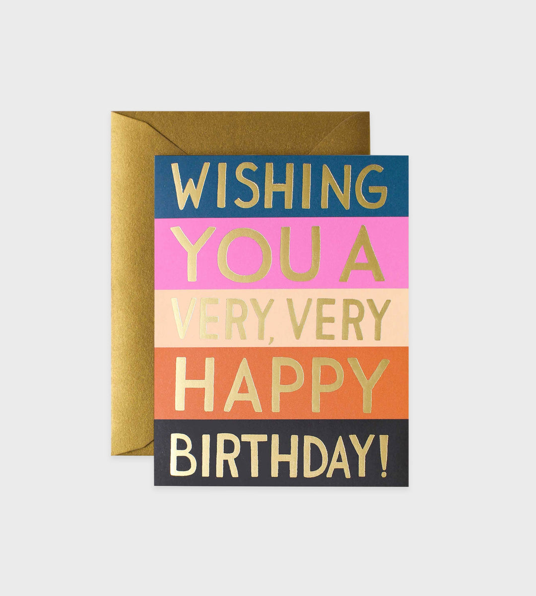 Rifle Paper Co. | Colour Block Birthday Card