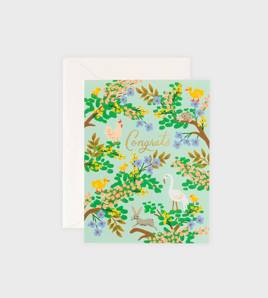 Rifle Paper Co. | Congrats Forest Card