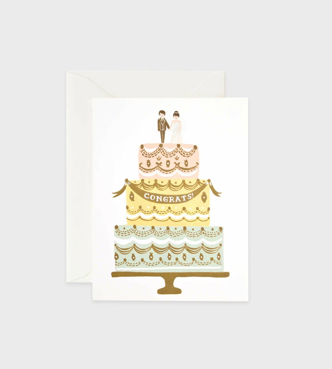 Rifle Paper Co. | Congrats Wedding Cake Card