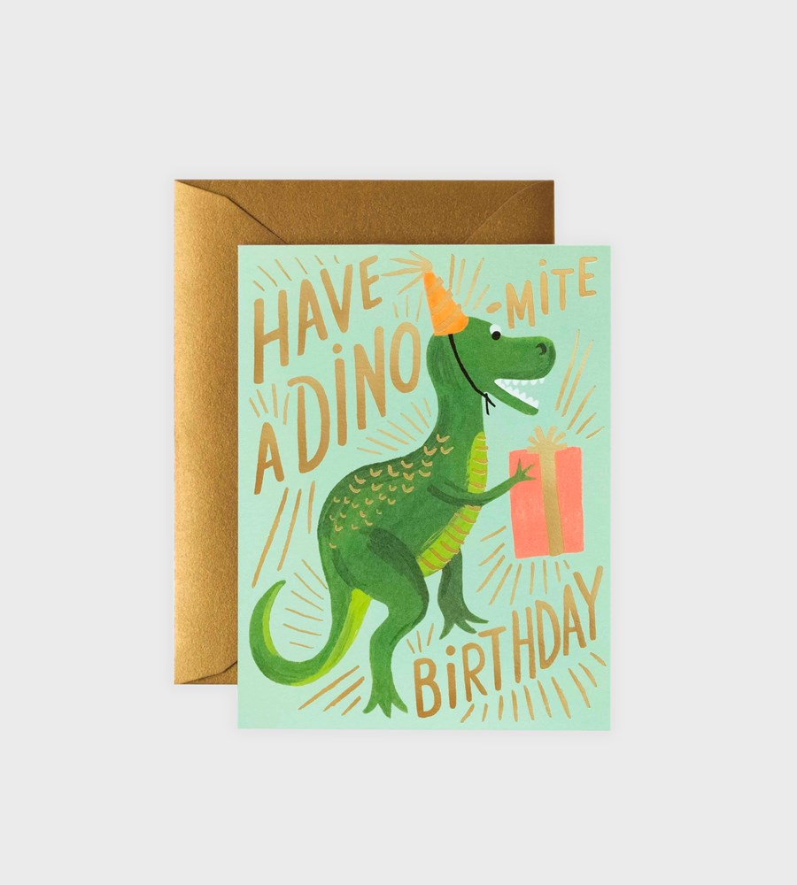 Rifle Paper Co. | Dino-Mite Birthday Card