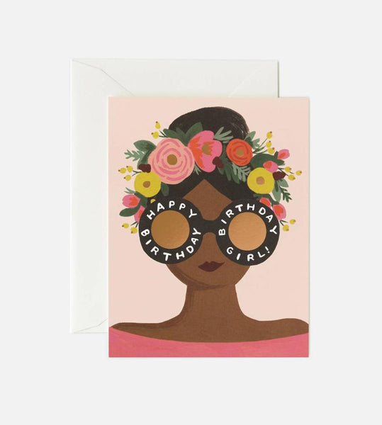Rifle Paper Co. | Flower Crown Birthday Girl Card