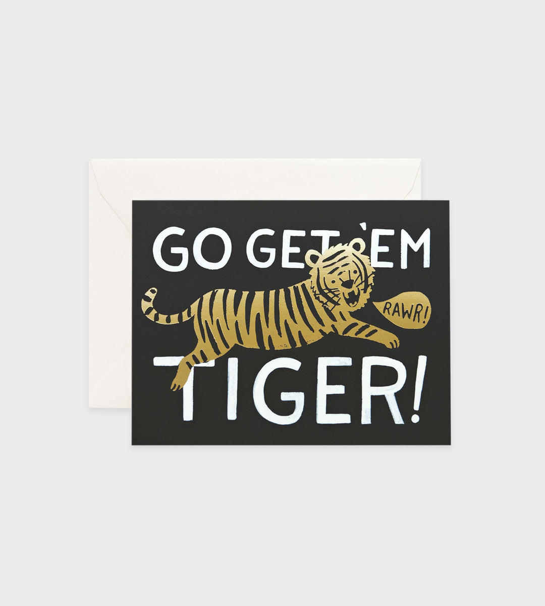 Rifle Paper Co. | Go Get Em Tiger Card