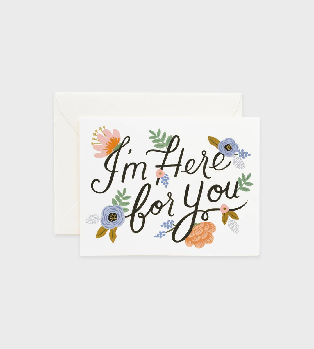 Rifle Paper Co. | Here For You Card