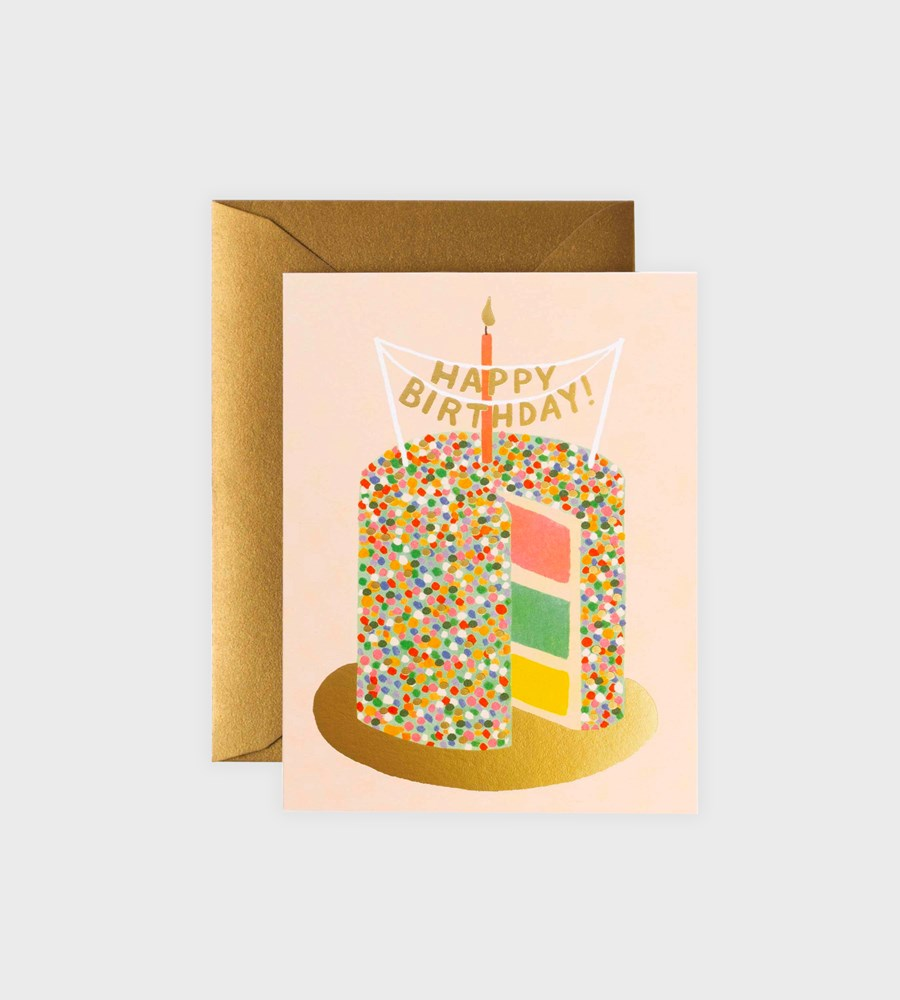 Rifle Paper Co. | Layer Cake Birthday Card