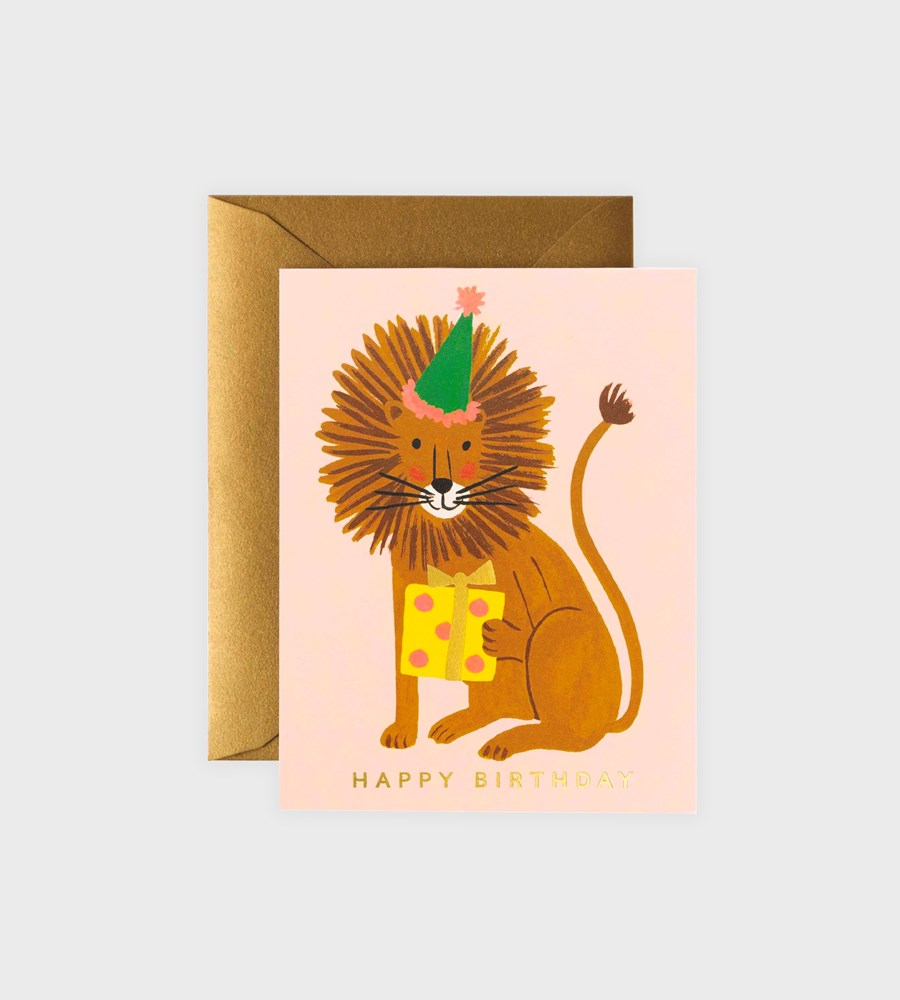 Rifle Paper Co. | Lion Birthday Card