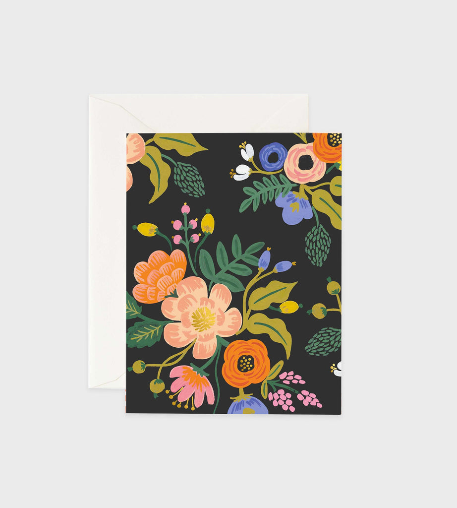 Rifle Paper Co. | Lively Floral Black Card