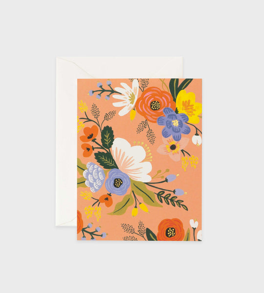 Rifle Paper Co. | Lively Floral Pink Card