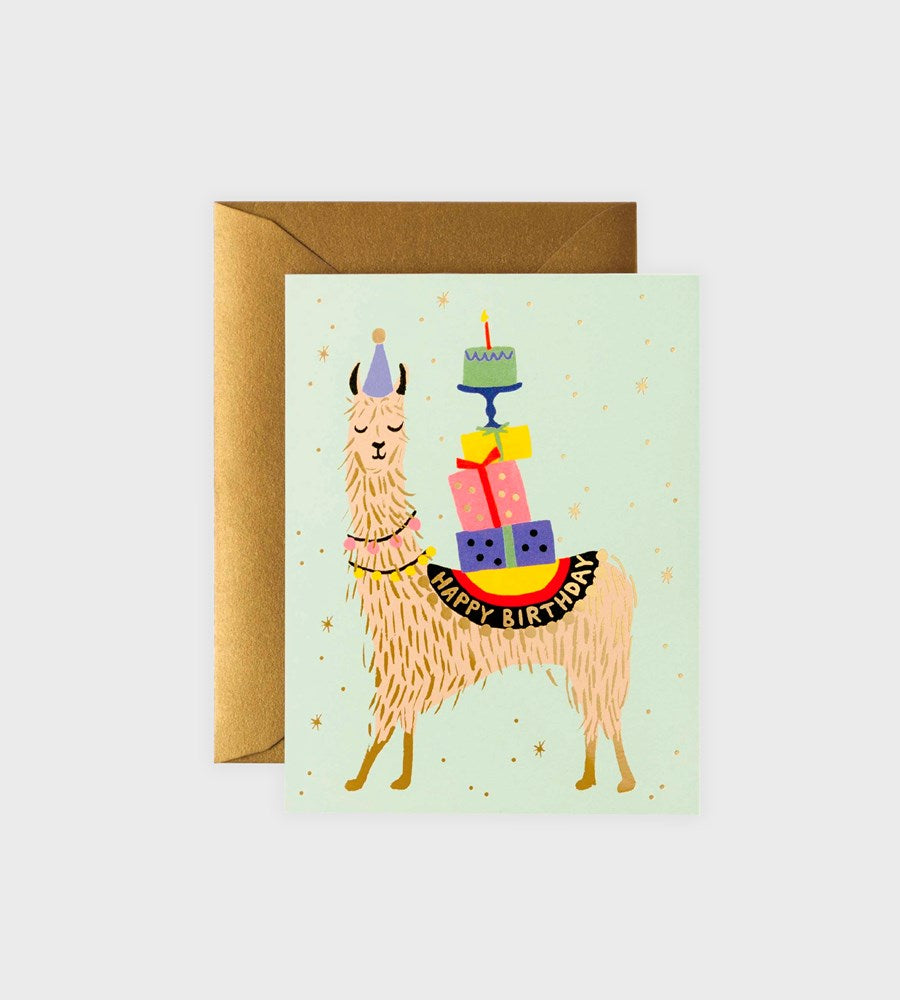 Rifle Paper Co. | Llama Birthday Card