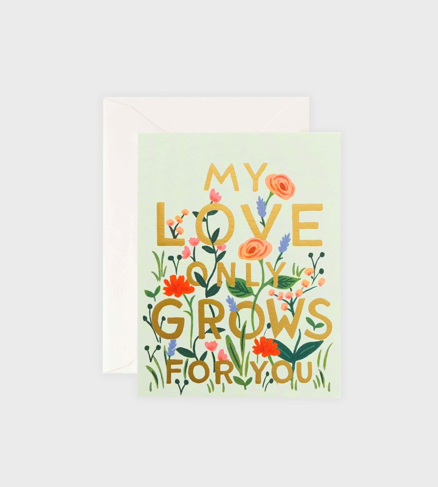Rifle Paper Co. | Love Grows Card