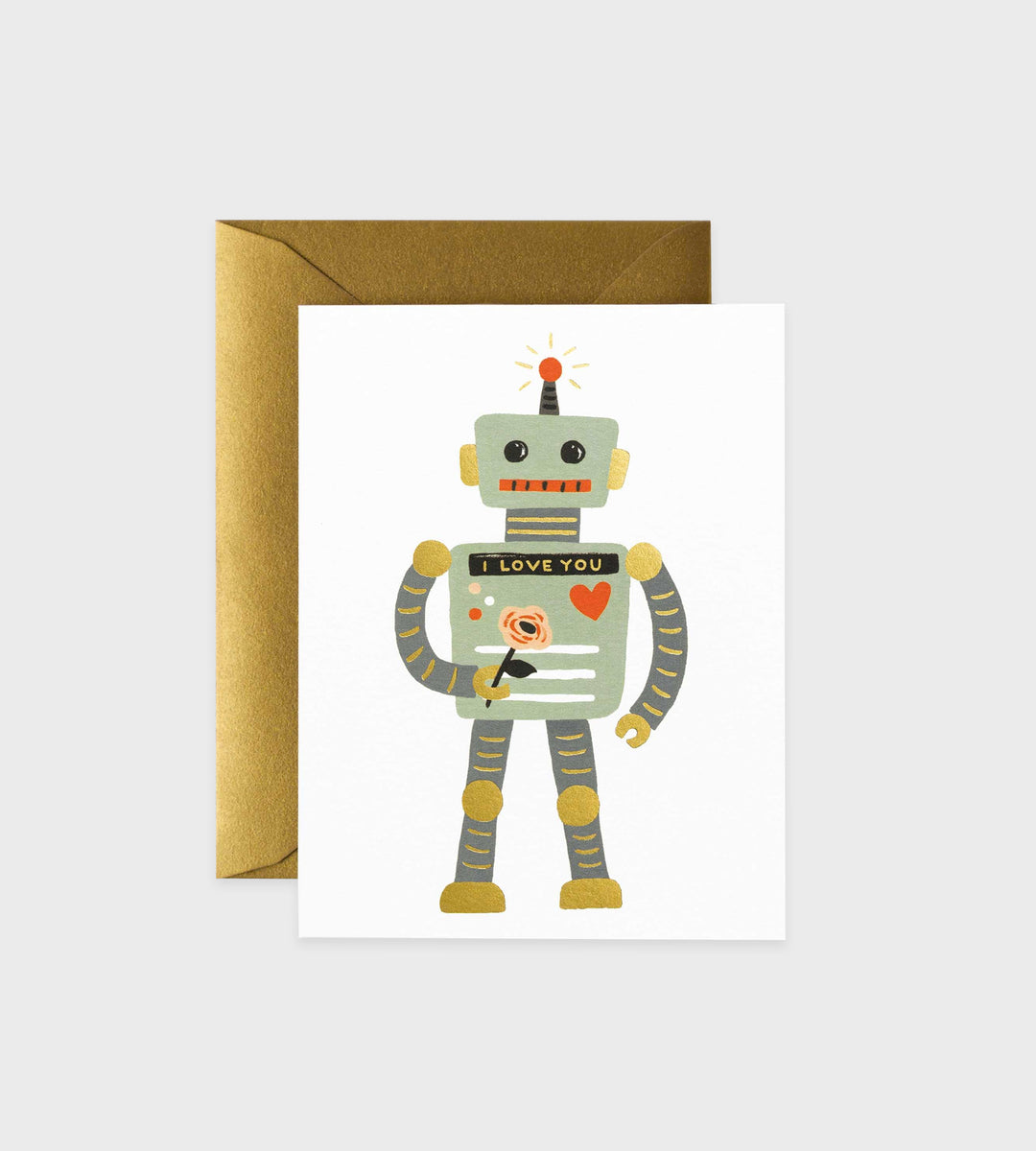 Rifle Paper Co. | Love Robot Card