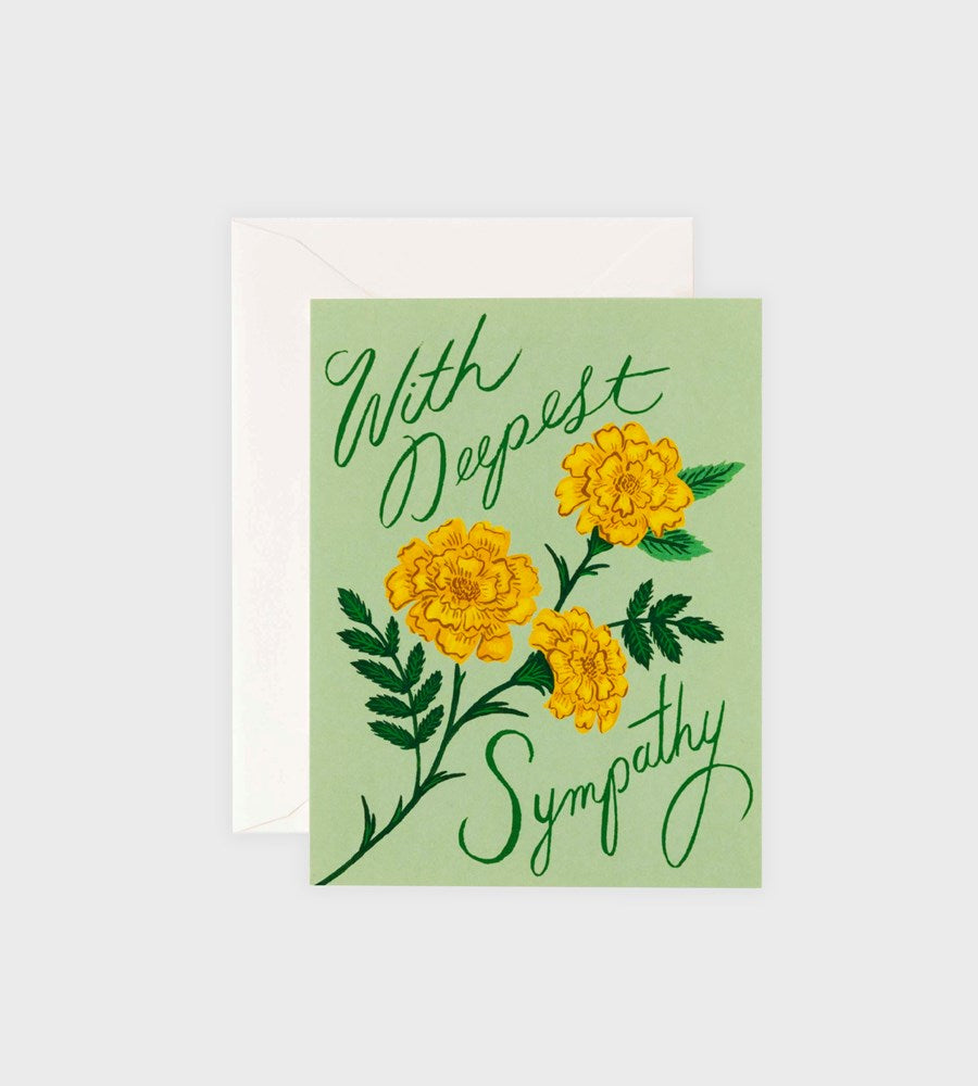 Rifle Paper Co. | Marigold Sympathy Card