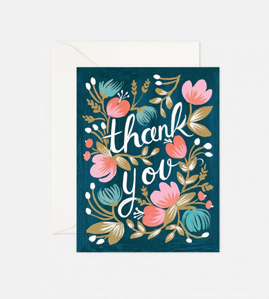 Rifle Paper Co. | Midnight Garden Thank You Card