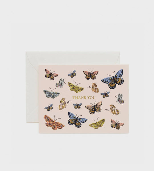 Rifle Paper Co. | Monarch Thank You Card