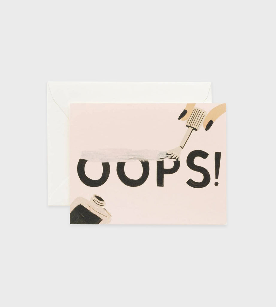 Rifle Paper Co. | Oops! Card