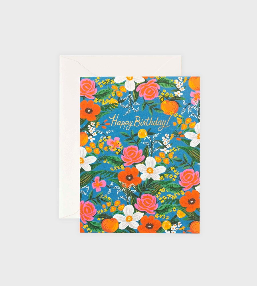 Rifle Paper Co. | Orangerie Birthday Card