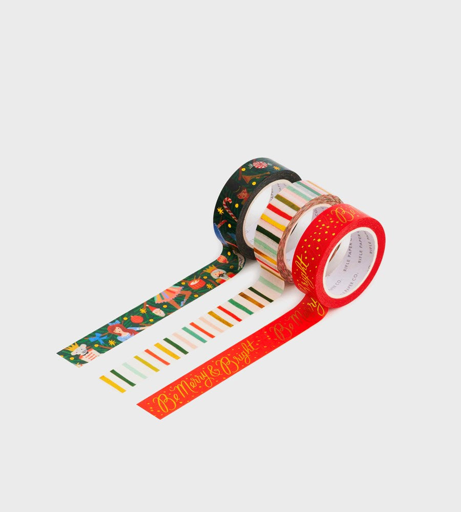 Rifle Paper Co. | Paper Tape | Nutcracker | Set of 3