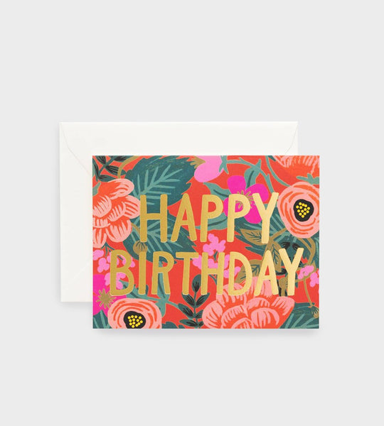 Rifle Paper Co. | Poppy Birthday Card