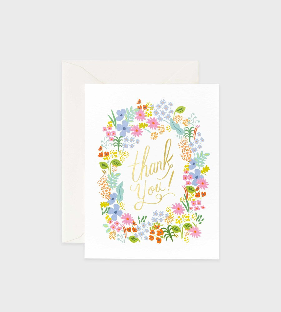 Rifle Paper Co. | Prairie Thank You Card