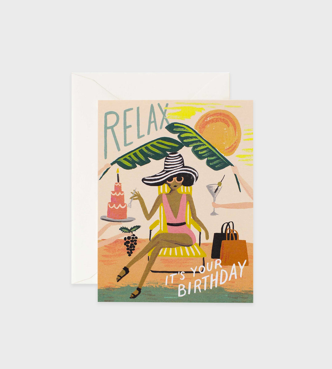 Rifle Paper Co. | Relax Birthday Card