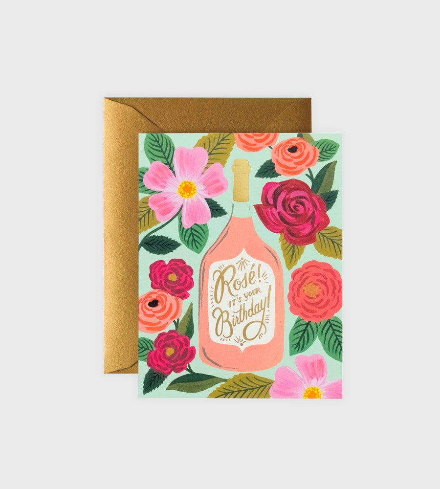 Rifle Paper Co. | Rose It's Your Birthday Card