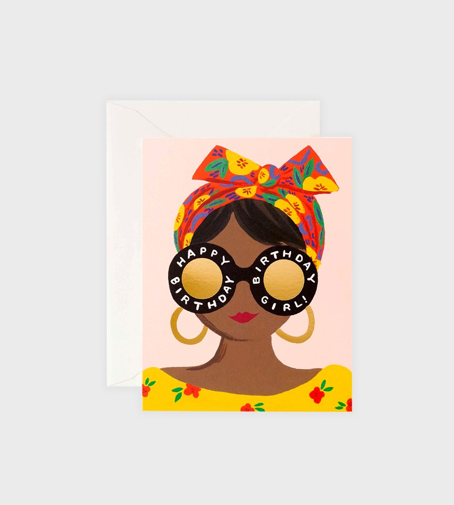 Rifle Paper Co. | Scarf Birthday Card
