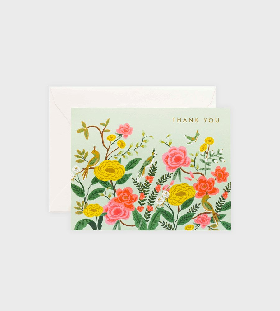 Rifle Paper Co. | Shanghai Garden Thank You Card