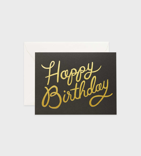 Rifle Paper Co. | Shimmering Happy Birthday Card